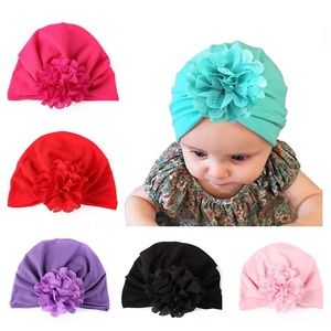 Other - Baby flower hats